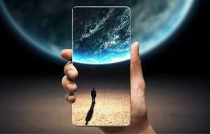 سامسونگ از موبایلی با نمایشگر ۶.۷ اینچ رونمایی می کند،نمایشگر جیبی